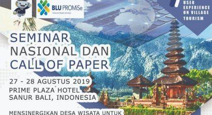 "Seminar Nasional ""Digital User Experience on Village Tourism"""