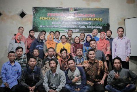 Pelatihan Peningkatan Kapasitas Pengelola Desa Wisata Wulunggunung, Magelang