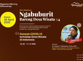 Webinar Seri 4: Dampak Covid-19 Terhadap Desa Wisata di Indonesia